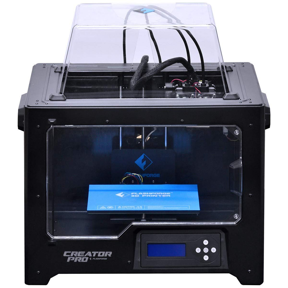 Flashforge Impresora 3D Creator Pro Impresora doble Extrusora con Optimizado Plate Construir y mejorada Holder Spool