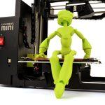 LulzBot Impresora 3D de escritorio mini figura3d