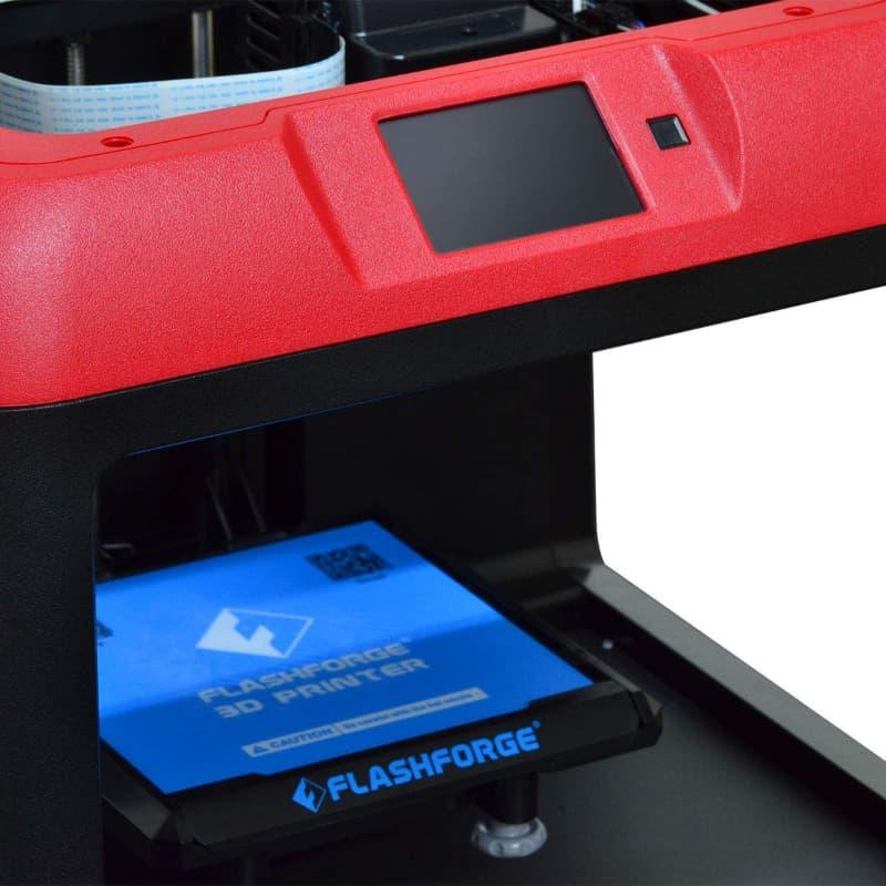 FlashForge Finder Impresora 3D, Color Negro y Rojo ficha