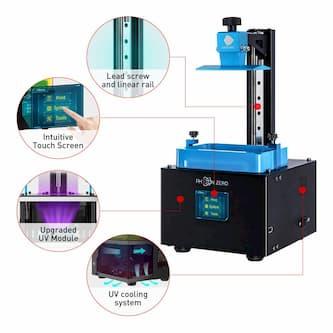 ANYCUBIC Photon Zero UV Impresora 3D LCD partes