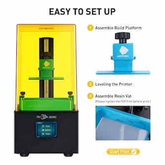 ANYCUBIC Photon Zero UV Impresora 3D LCD modrlo